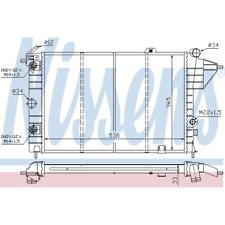 Kühler Motorkühlung - Nissens 630551
