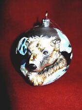 Polar Bear Glass Christmas Ornament Decoration