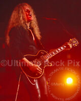 JOHN SYKES PHOTO THIN LIZZY 8x10 Concert Photo by Marty Temme Black Les Paul
