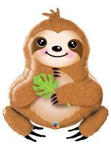 Large Sweet Sloth Shaped Helium Party Balloon