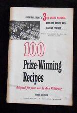 Pillsbury's 3rd Grand National Baking Contest 100 Prize-Winning Recipes 1952
