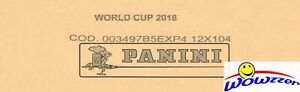 2018 Panini World Cup Stickers 104 Pack Factory Sealed 12 Box CASE-6,240 Sticker