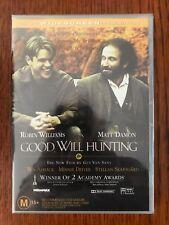 Good Will Hunting DVD New & Sealed Region 4 Robin Williams Matt Damon