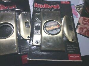 Kwikset Modernization Kit Door Knob Mortise Lockset Titan 215 US3