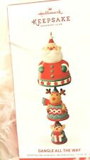 Hallmark 2016~Reindeer Bell~ DANGLE ALL THE WAY~ KOC  Exclusive Ornament NEW