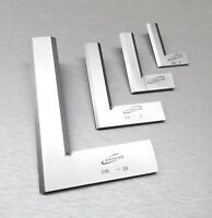 Machinist Square 90º Right Angle Engineer Beveled Squares Set 4-Size Design Tool
