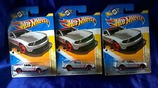 2012 Mustang Boss 302 Laguna Seca New Models Hot Wheels Lot Of 3 Free Shipping
