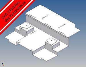 ML: Fahrerhausboden für TAMIYA MAN TGX Maßstab 1:14,5 (Basisversion)