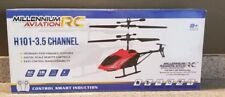 Millenium Aviation H101 3.5 CH Mini RC Helicopter ~ Remote Control Aircraft Toy