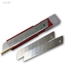 10er SET Klingen Cuttermesser ABBRECHMESSER MESSER 18mm