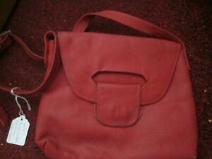 Red Bag Long strap Handbag /Shoulder Bag cross-over body