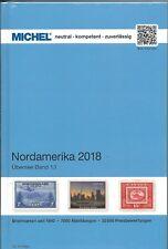 Catalogus Michel Noord Amerika - 2018 deel 1/1 Gratis verzending in NL