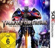 Nintendo 3DS Transformers RISE OF THE DARK SPARK  Deutsch GuterZust.