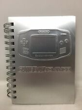 Gameboy Advance Steel Note Book GBA Employee Promo Official Nintendo NFR Rare