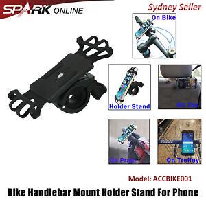 Motorcycle Bike Bicycle Handlebar Mount Holder Pram Cradle For Phone SP