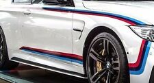 BMW OEM Performance F82 M4 Coupe Tri Color Motorsports Stripe Decal Set New