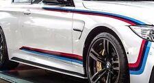 BMW OEM Performance F82 M4 Left & Right Tri Color Motorsports Stripe Decal Set
