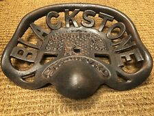 More details for tractor seat cast iron blackstone stamford & company ltd tractor seat