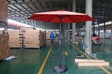 Outdoor Umbrella Patio Market Orange 9FT