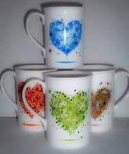 BN Boxed Personalised Fine Bone China Heart Mug, Heart Gift Mug, Gift For Her,