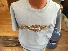 """Vintage Harley Davidson Motorcycle Men's T Shirt """" Want Some Real Competition """""""
