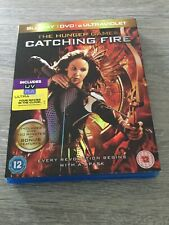 The Hunger Games Catching Fire Blu-Ray + UV DVD