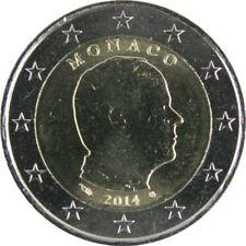 Pièces euro de Monaco pour 2 euro année 2014