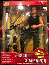 NEW NIB SEALED World Peacekeepers Military Assault Commando Action Figure