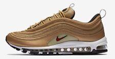 Nike Air Max 97 Metallic Gold Men's Sz 9.5 884421-700 silver bullet 1/97 skepta
