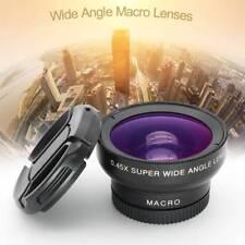Mobile Phone Professional 37MM 0.45X 49UV Super Wide Angle Lens + Macro Clip
