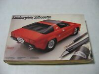 Testors Lamborghini Silhouette 1/24 Scale Model Kit #385