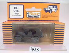 Roco Minitanks 1/87 No. 226 Dodge Kübelwagen Command Car US-Army Militär OVP#423