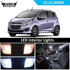 White LED Interior Accessories Kit MAP TRUNK for 2012-2015 Chevy Spark 4 bulbs
