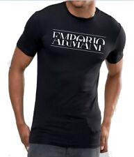 Emporio Armani Mens Muscle fit T-shirt Chest Split Logo Size M L XL