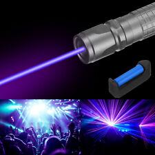 900miles Laser Pointer Pen Blue Purple Light Visible Beam Lazerampbattampcharger