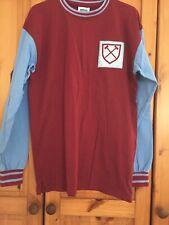 West Ham United ScoreDraw Retro Football shirt Jersey Maglia Trikot Men Size L