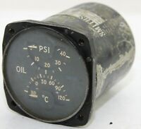 Smiths dual oil and temperature gauge (GB8)