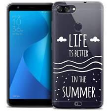 """Coque Crystal Gel Pour Asus Zenfone Max Plus (M1) ZB570TL (5.7"""") Souple Summer L"""