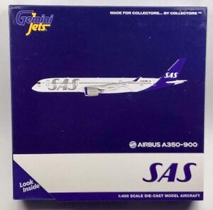 GeminiJets GJSAS1912 SAS Airbus A350-900 'SE-RSC' 1/400 Scale Diecast Model