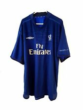 Chelsea Training Shirt. XL Umbro Blue Adults Short Sleeves Football Top Only Kit