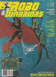 Robo Warriors #8 VF; CFW | save on shipping - details inside