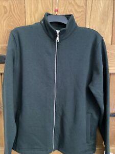 Mens Folk Gamble Zip through Sweatshirt Top Green Size 3 Large New without Tags