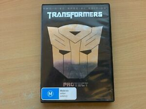 Transformers 2-Disc Special Edition Shia LaBeouf Megan Fox (DVD 2007) R4