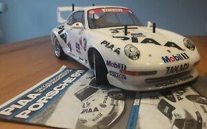 Tamiya 1:10 PIAA Porsche 911 - TA03R-S - Item 58215 - Vintage