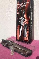 Warrior Skulls Dagger Wall Display 20� Long Dagger & Display Board
