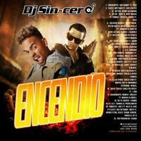 DJ SINCERO Encendio 2020 Vol. 1 REGGAETON LATIN Mixtape Mix CD Spanish Music