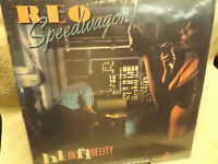REO SPEEDWAGON / HI INFIDELITY / VG++ / FREE SHIP SEE DESCRIP