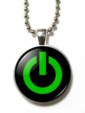 Magneclix magnetic pendant-Power Button icon- On/Off switch