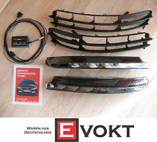 Audi A6 S6 LED DRL Complete Kit With APT-S Module Wiring Harness & Grid Genuine