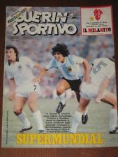 GUERIN SPORTIVO=N°2 1981=MUNDIALITO=Maradona cover=TALKING HEADS=milly carlucci
